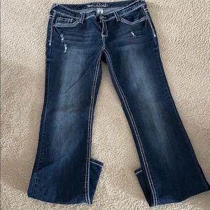 Maurices Dark wash bootcut jeans
